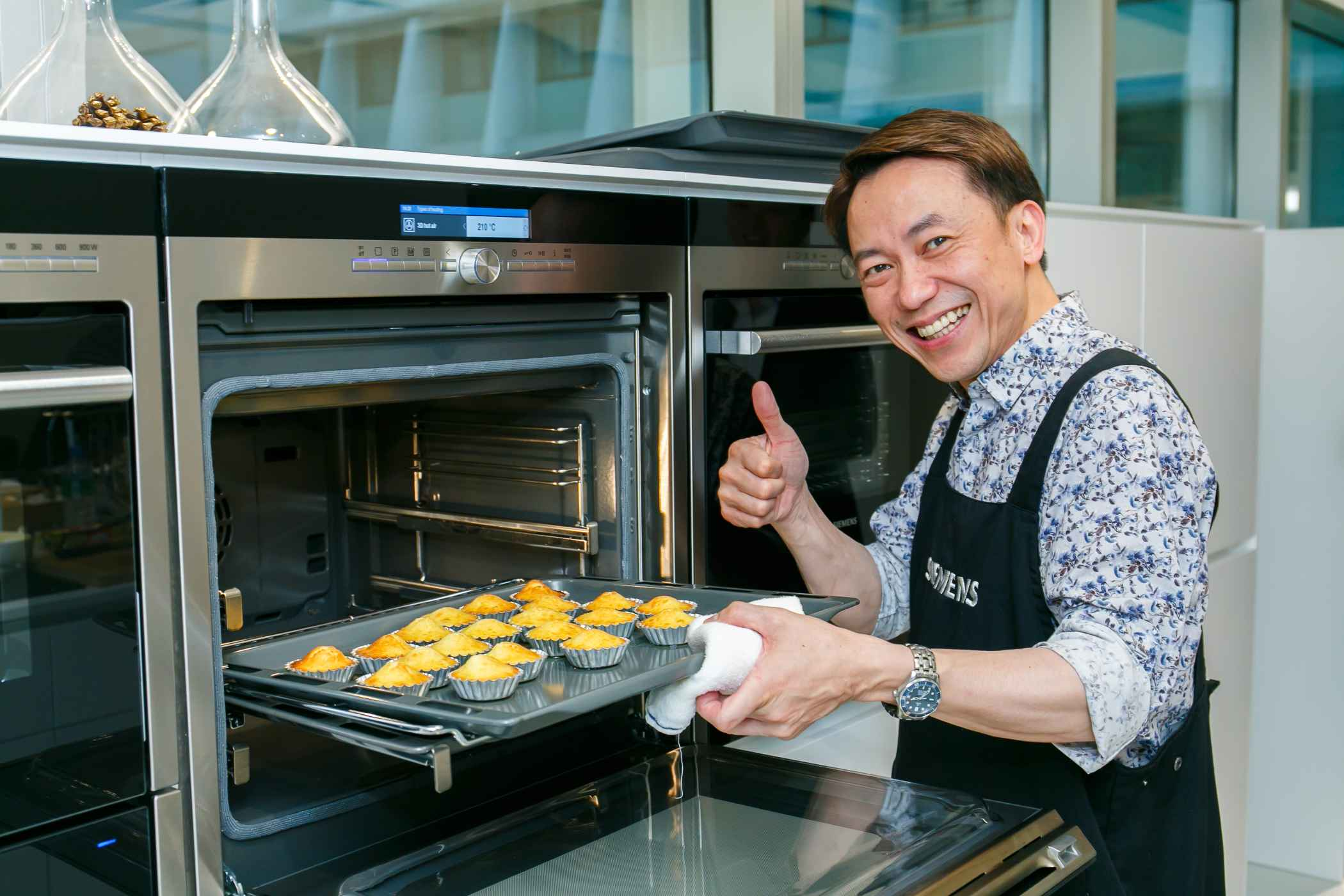 Siemens Ultimate Gourmet Journey Episode VI   Festive Delights Cooking  Demonstration By Ricky Cheung