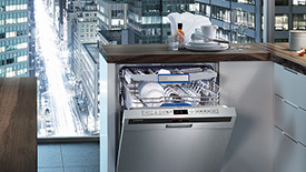 Full-size dishwashers